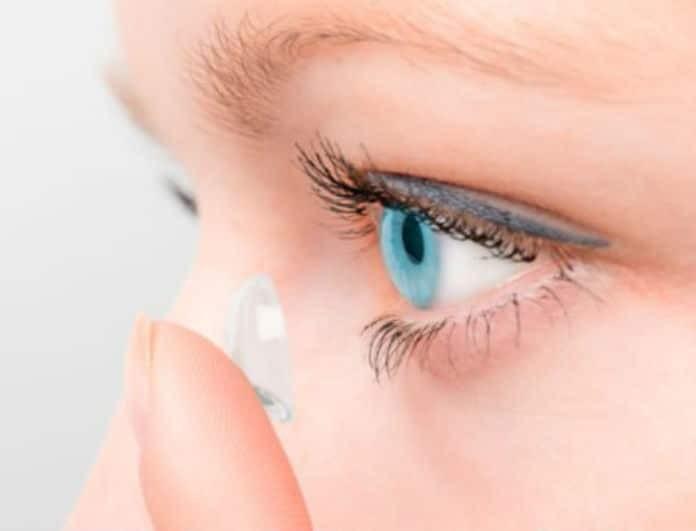 6+1 συνηθισμένα λάθη που κάνουμε όλοι με τους φακούς επαφής!