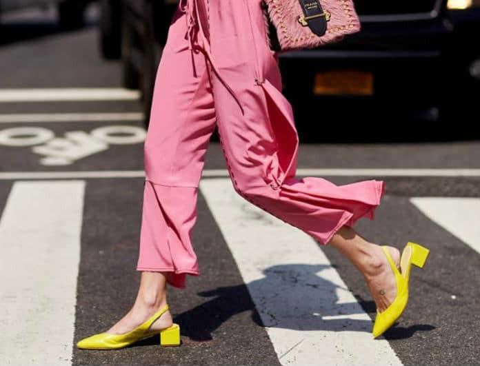 Think Yellow! Τα all day πέδιλα για μοναδικές street style εμφανίσεις!