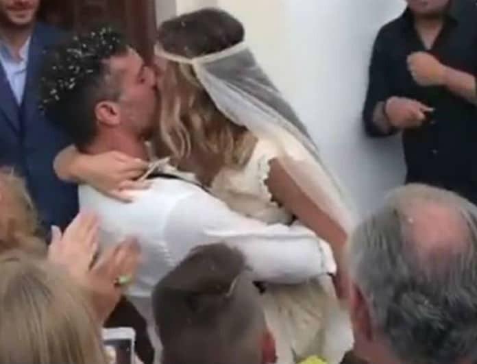 Δεν φαντάζεστε ποιος παίκτης του Survivor συνόδευσε την γυναίκα του Χρανιώτη στην εκκλησία!