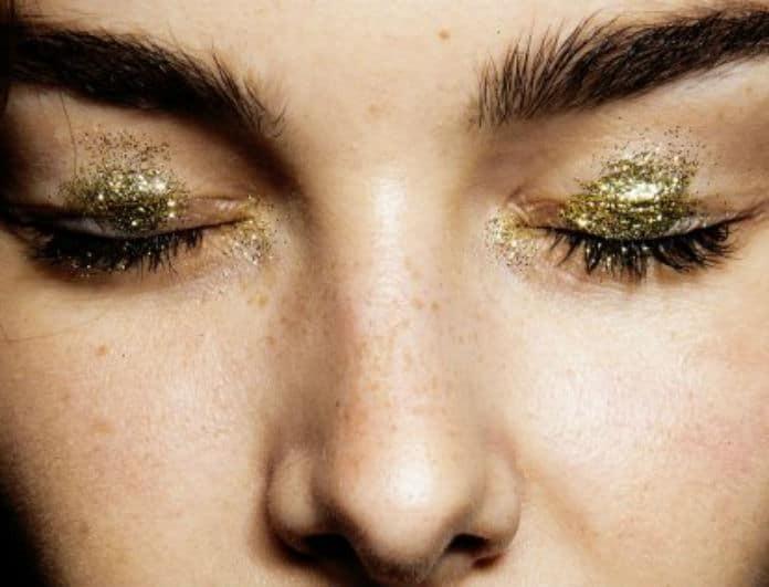 Put some glitter on! Oι σκιές ματιών που θα δώσουν λάμψη στο βλέμμα!