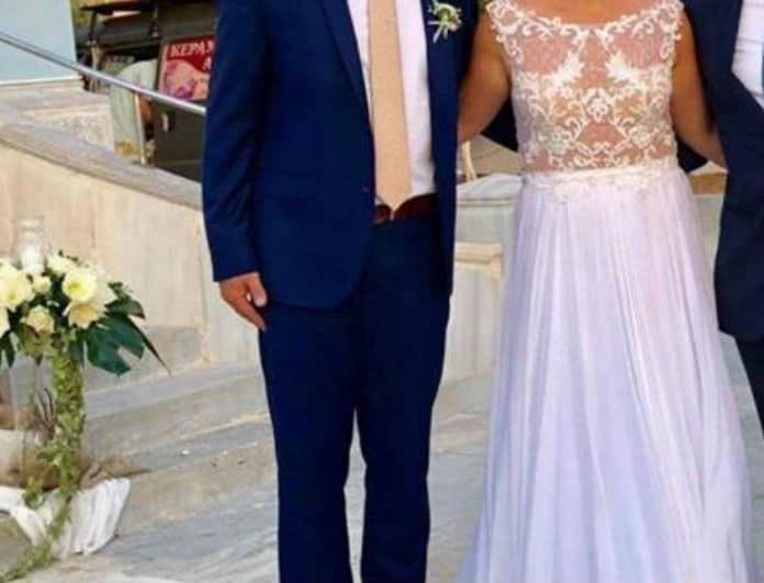 d97bf9bb1f89 Ονειρεμένος γάμος στη Σύρο για γνωστό ζευγάρι της ελληνικής showbiz!  Φωτογραφίες ντοκουμέντο.