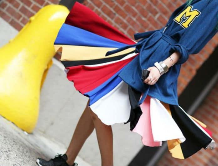 Rainbow: Η απόχρωση στα ρούχα που θα απογειώσει το στυλ σου! Τι θα φορεθεί την φετινή σεζόν...
