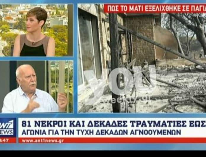 Βγήκε από τα ρούχα του ο Γιώργος Παπαδάκης! Η on air έκρηξη του... (Βίντεο)