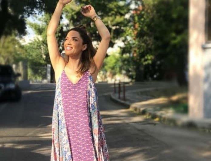 Απολαμβάνει τις διακοπές της η Βάσω Λασκαράκη! Το βίντεο μέσα από τη θάλασσα που ξετρέλανε τους διαδικτυακούς της φίλους!