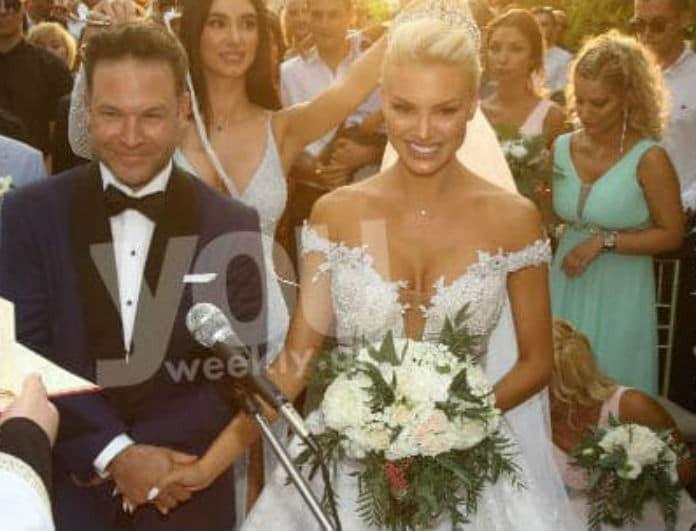 Αλεξάνδρα Παναγιώταρου - Αριστομένης Γιαννόπουλος: Το άλμπουμ του παραμυθένιου γάμου τους! Αποκλειστικές φωτογραφίες από το youweekly.gr