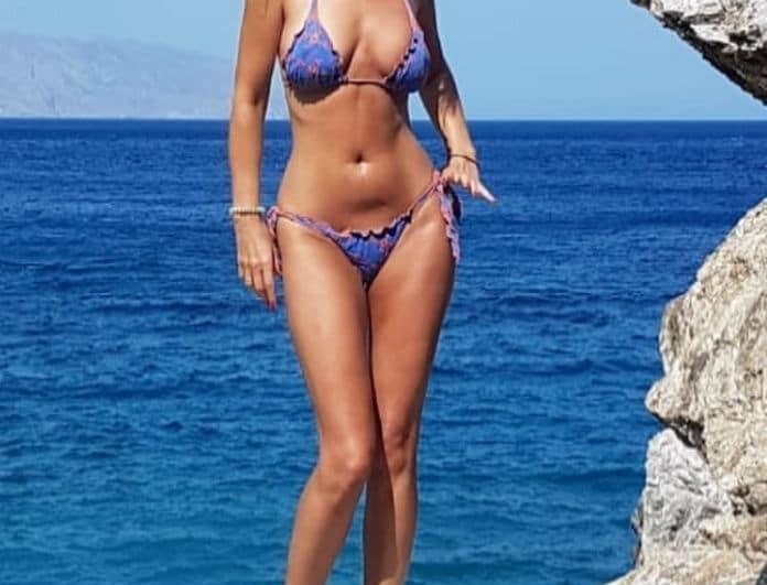"""""""Εγκεφαλικό""""! Πασίγνωστη Ελληνίδα σταρ στα 40+ βάζει """"κάτω"""" και 20άρα με τις αναλογίες της!"""