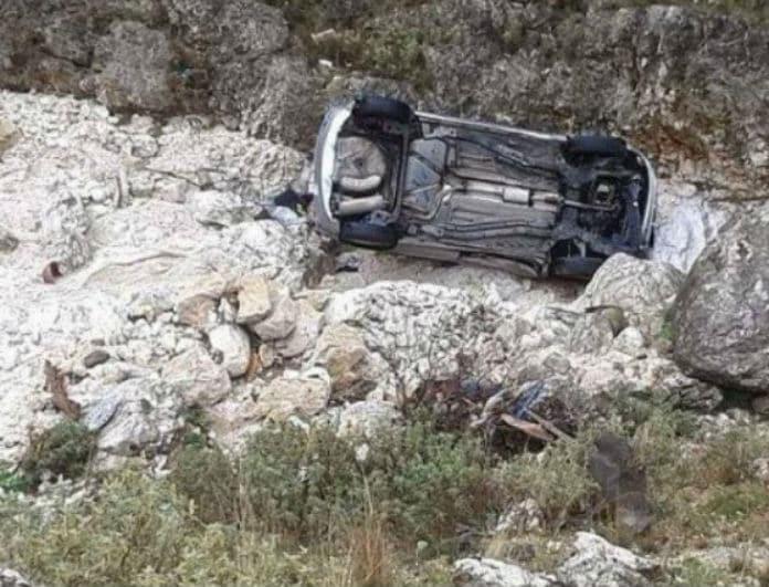 Θανατηφόρο τροχαίο στην Ηλεία: Άντρας έπεσε σε χαράδρα!