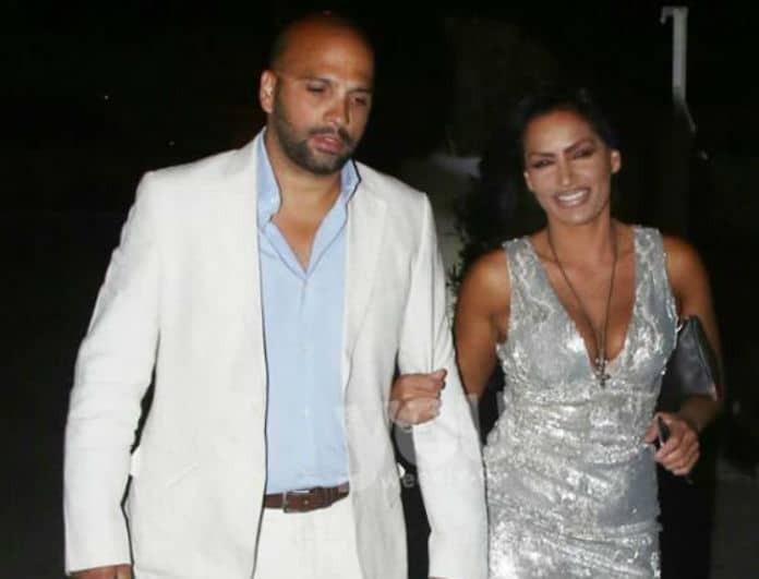 """Eιρήνη Μερκούρη: Σπάνια εμφάνιση με τον σύζυγό της! Το Υouweekly.gr τους """"τσάκωσε""""!"""