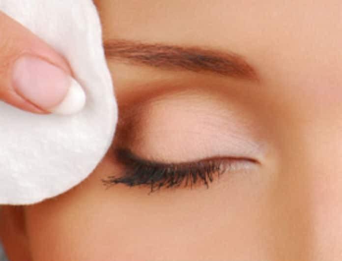 Ντεμακιγιάζ ματιών: Καν'το σωστά σε 3 απλά βήματα!