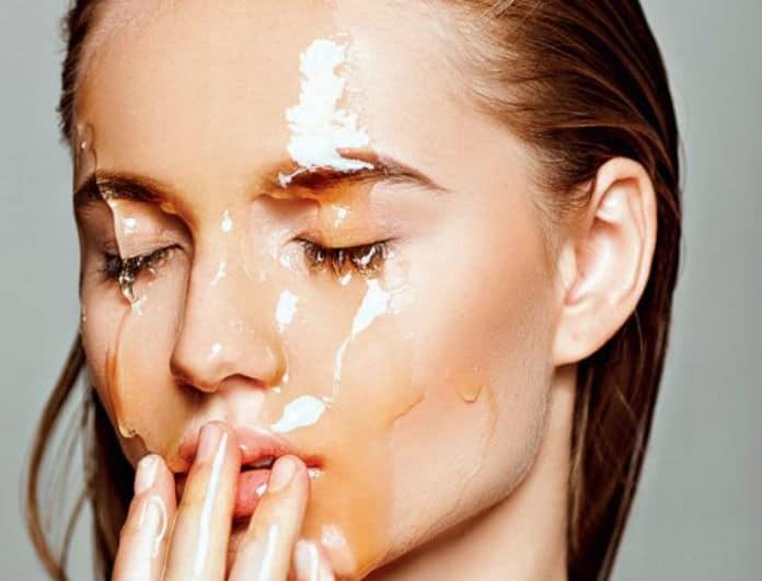 Μάσκα ομορφιάς με μέλι: Η ιδανική λύση για λαμπερό πρόσωπο μετά το καλοκαίρι!