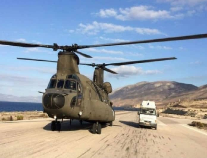 ΓΕΣ: Ανακοίνωση για την αναγκαστική προσγείωση του στρατιωτικού ελικοπτέρου!