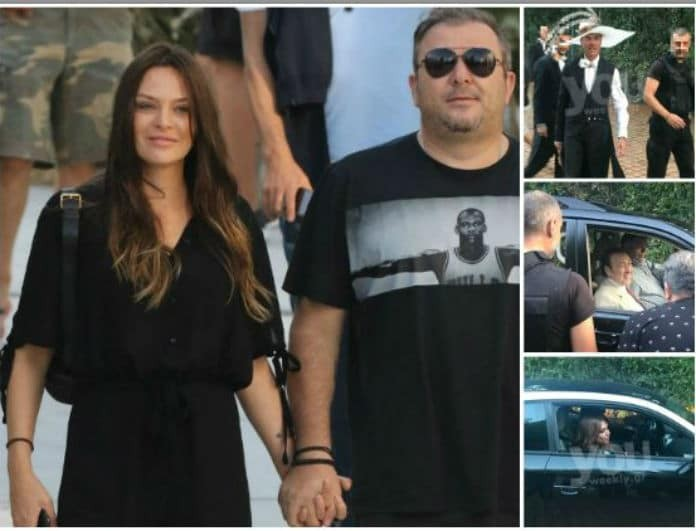 57a07e48756 Γάμος Μπόσνιακ- Ρέμου: Οι πρώτοι καλεσμένοι έφτασαν στο κτήμα! Δείτε τις  αποκλειστικές φωτογραφίες