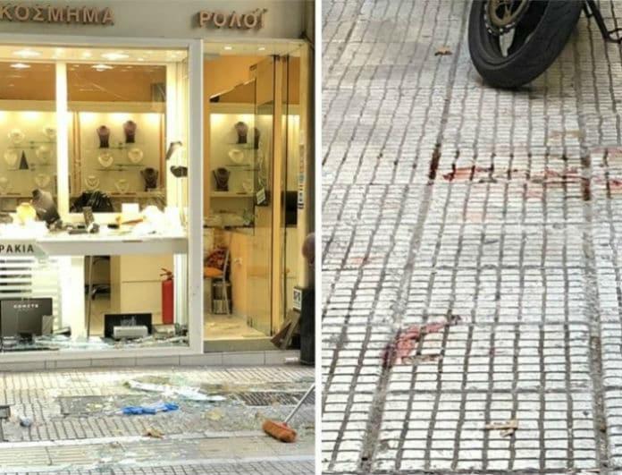 Ομόνοια: Νεκρός ο άντρας που αποπειράθηκε να ληστέψει κοσμηματοπωλείο!