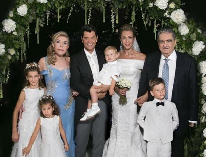 Γάμος Ρουβά - Ζυγούλη: Δεν φαντάζεστε τι ύψος είχε η τούρτα τους! Απλά υπερπαραγωγή!