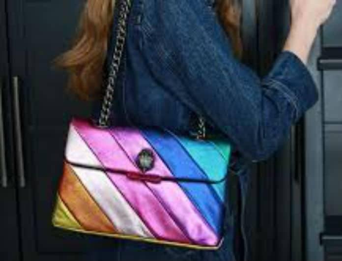 Like a rainbow! Η τσάντα που έχει προκαλέσει φρενίτιδα στο εξωτερικό! Αυτή είναι η τιμή της!