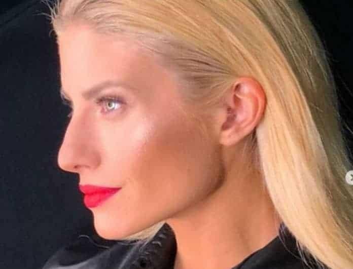 Ευαγγελία Αραβανή: Νέο κανάλι, νέο πρότζεκτ, νέος ρόλος, νέο hair cut!