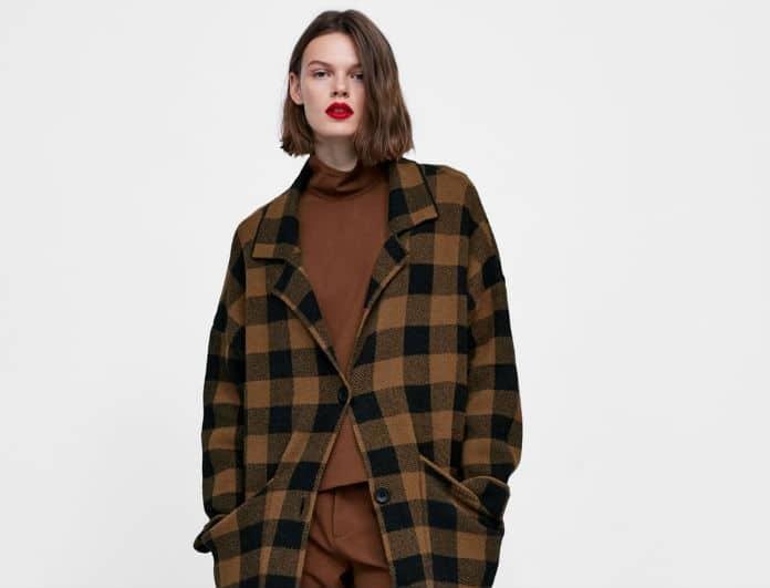51cbd0315cb ZARA: Αυτά είναι τα must have παλτό της σεζόν! Τι επιτάσσει η φετινή μόδα