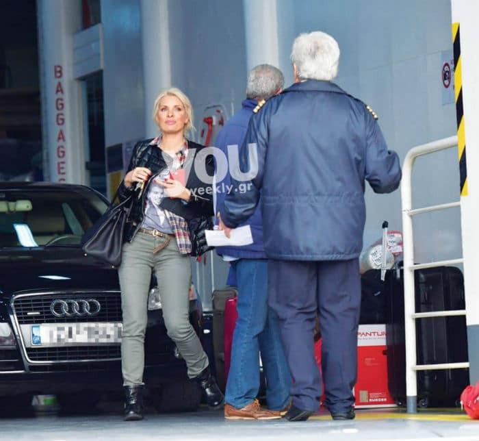 Ελένη Μενεγάκη: Το καρό πουκάμισο της που λατρέψαμε! Κοστίζει κάτω από 50 ευρώ!