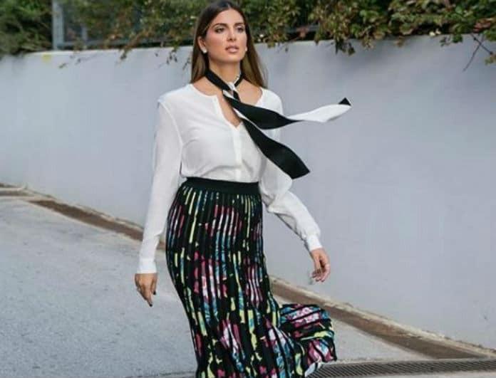 Σταματίνα Τσιμτσιλή: Φόρεσε το hot trend της σεζόν που έρχεται κατευθείαν από το εξωτερικό!