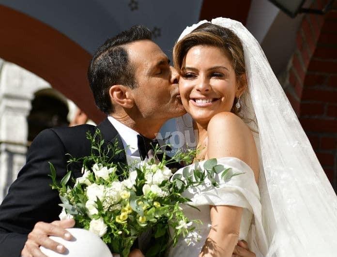 Μαριέττα Χρουσαλά: Το... μυστικό της κουμπάρας που έσωσε τον γάμο της Μενούνος!