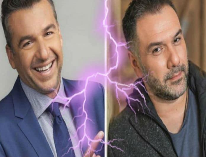 Λιάγκας - Αρναούτογλου δύο ξένοι στο ίδιο κανάλι! Η μεγάλη κόντρα των ισχυρών του ΑΝΤ1!