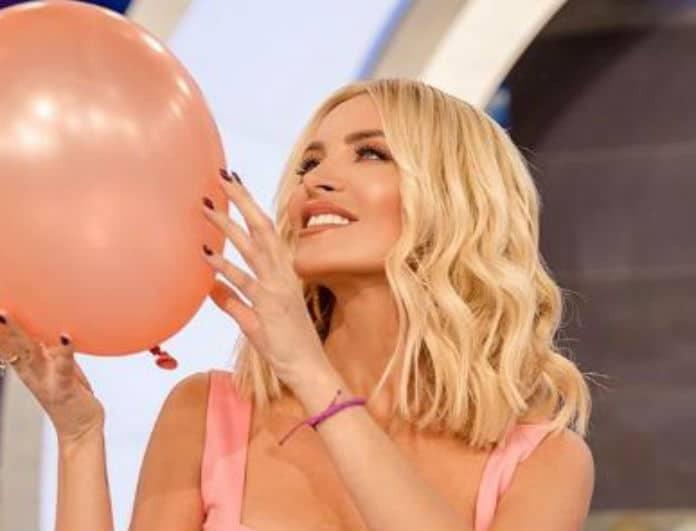 Κατερίνα Καινούργιου: Φόρεσε το πιο hot girly χρώμα της σεζόν στην πρεμιέρα της εκπομπής της!