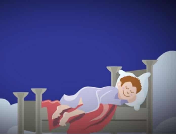 Αυτό είναι το «μυστικό» του ξεκούραστου ύπνου και του ευχάριστου ξυπνήματος! (βίντεο)