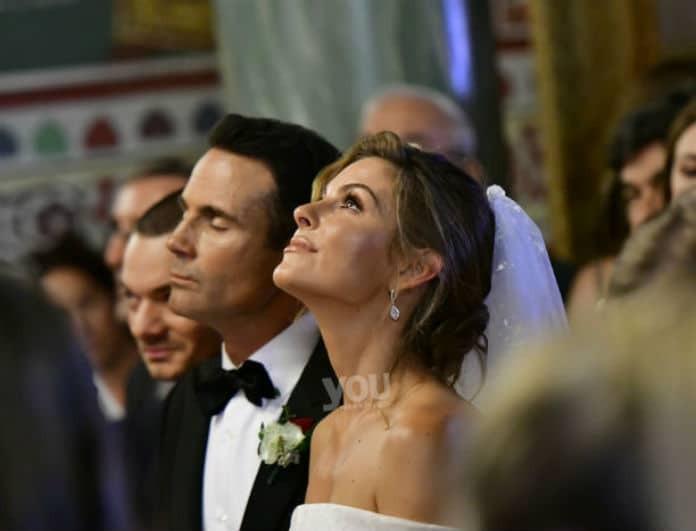 Μαρία Μενούνος: Μανούριασε η νύφη στο γλέντι του γάμου! Οι φωτογραφίες - ντοκουμέντο!