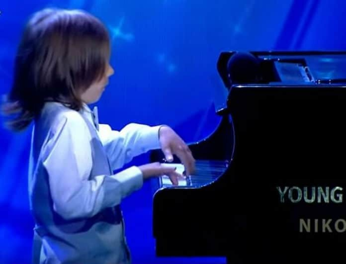 «Ελλάδα έχεις ταλέντο»: Ο 6χρονος Στέλιος που έκλεψε την παράσταση με το πιάνο του! (Βίντεο)
