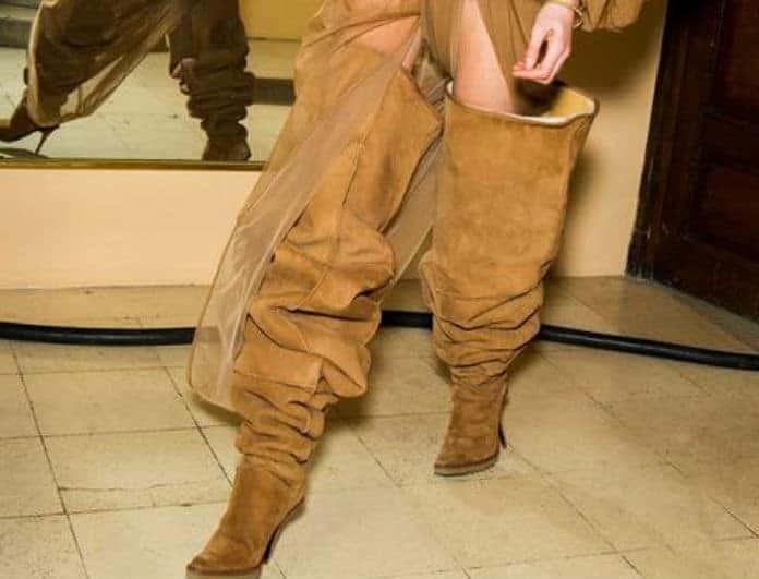 Καφέ χρώμα: Η νέα τάση στις μπότες