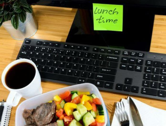 10 εύκολες συνταγές για φαγητό στο γραφείο!
