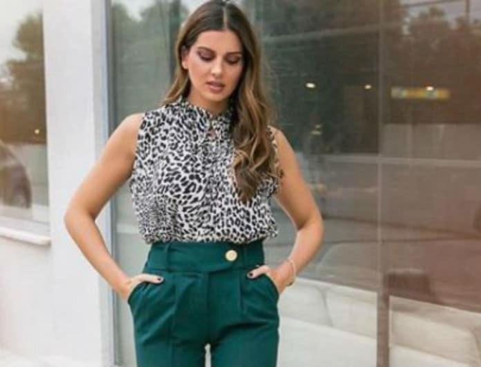 Το νέο outfit της Σταματίνα Τσιμτσιλή θα σε βγάλει ασπροπρόσωπη όλη μέρα!