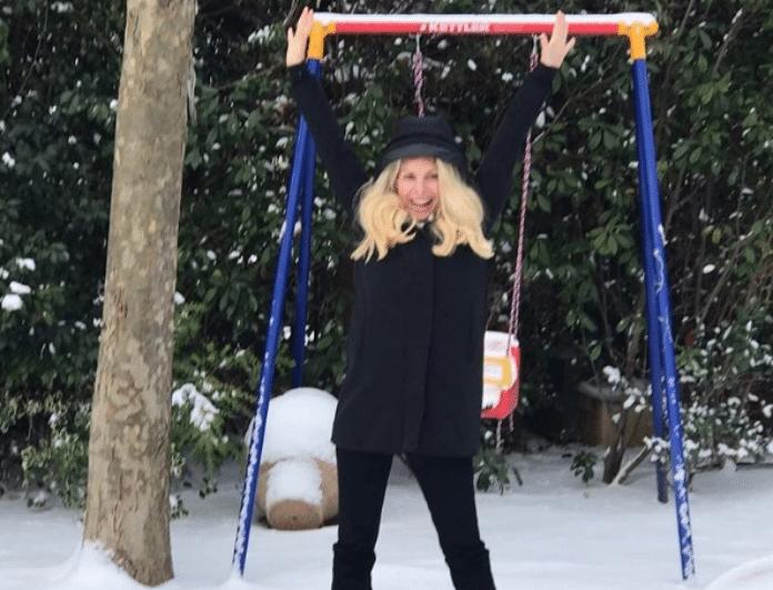 Ελένη Μενεγάκη: Η φωτογραφία της με άρωμα Χειμώνα που γκρέμισε το Instagram!