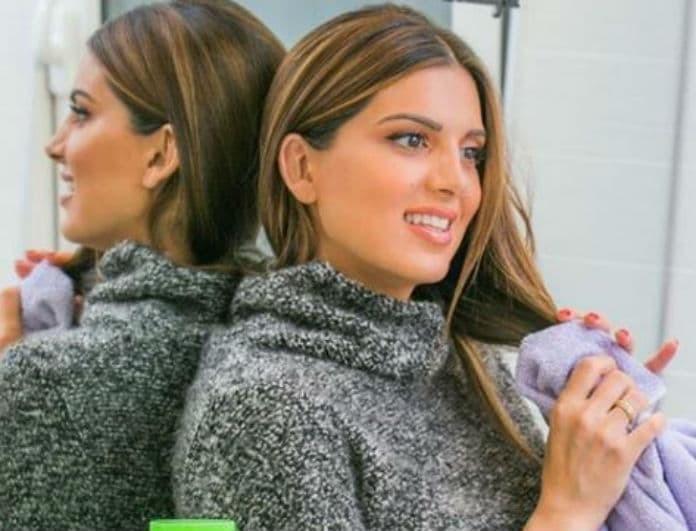 Σταματίνα Τσιμτσιλή: '' Έχετε λιπαρά μαλλιά; Δες τα 5 tips μου για να διορθώσεις το πρόβλημα! '