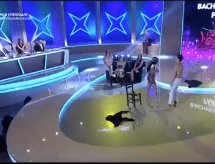 My style rocks 2 Gala: Άφωνη η Σπυροπούλου! Ο ημίγυμνος χορευτής που την αναστάτωσε (βίντεο)
