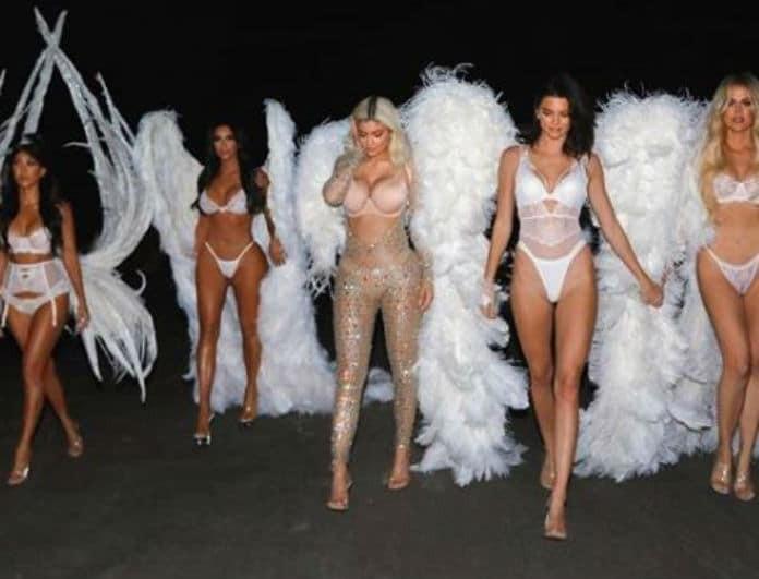 Το τερμάτισαν οι αδερφές Καρντάσιαν! Ντύθηκαν αγγελάκια της Victoria's Secret για το Halloween!