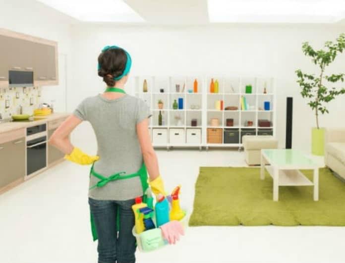 Έξυπνα tips για καθαρό σπίτι όλη την εβδομάδα! Θα σας λύσουν τα χέρια!