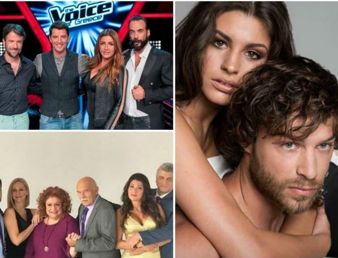 Τηλεθέαση Prime Time: Τι είδε ο κόσμος; «The voice», «Μουρμούρα» ή «Τατουαζ»!