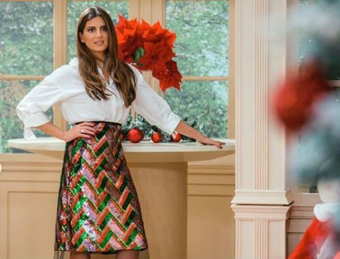 Σταματίνα Τσιμτσιλή: Φόρεσε την απόλυτη φούστα με παγιέτα και λάμψε σε κάθε σου βραδινή έξοδο!