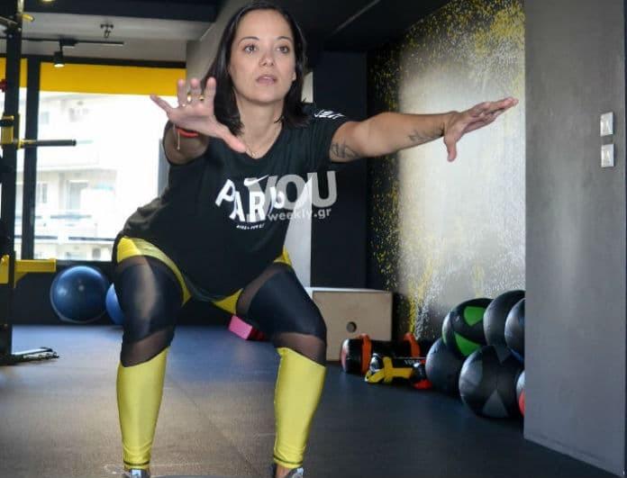 Κατερίνα Τσαβάλου: Αποκαλύπτει πως έχασε τα 20 κιλά της εγκυμοσύνης!