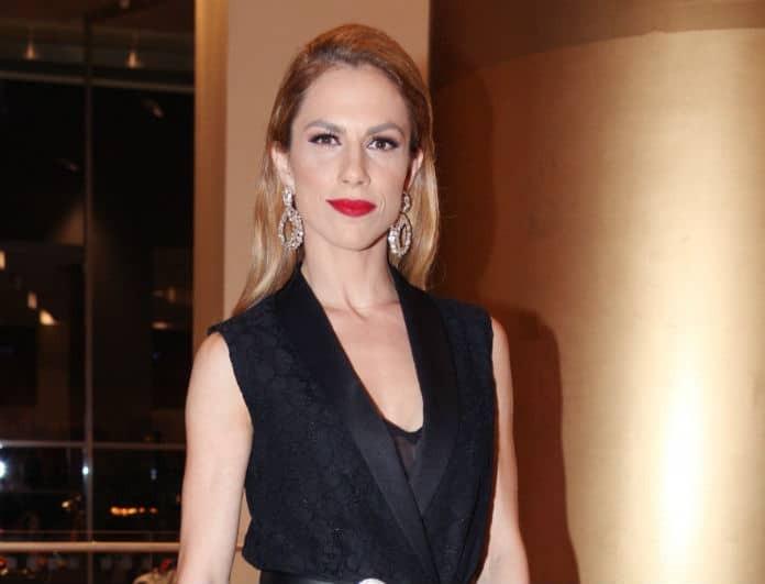 Ντορέττα Παπαδημητρίου: Φόρεσε ένα από τα hot trend του χειμώνα!