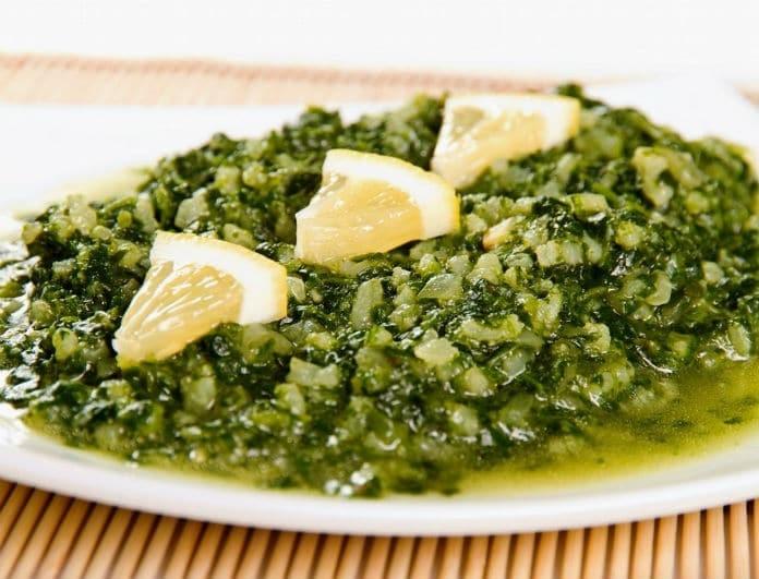 Η νόστιμη συνταγή για μαμαδίστικο παραδοσιακό σπανακόριζο!