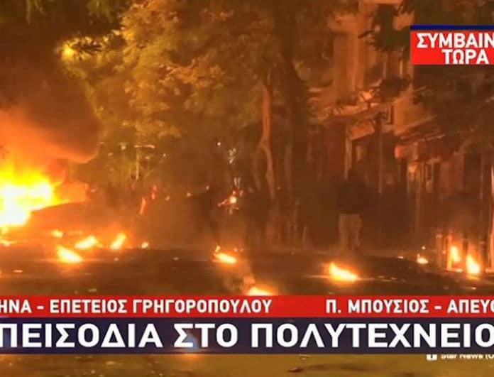 Πεδίο μάχης η χώρα στη μνήμη του Αλέξανδρου Γρηγορόπουλου! Σοκάρουν οι εικόνες... (βίντεο)