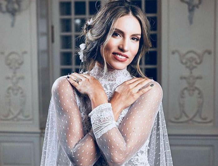 Αθηνά Οικονομάκου: Φόρεσε νυφικό για δεύτερη φορά!