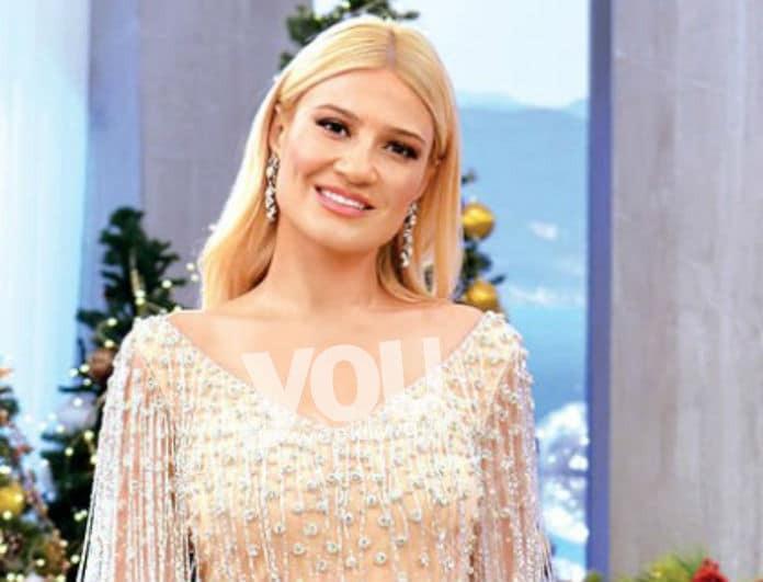 Φαίη Σκορδά: Φόρεσε το απόλυτο φόρεμα για το ρεβεγιόν!