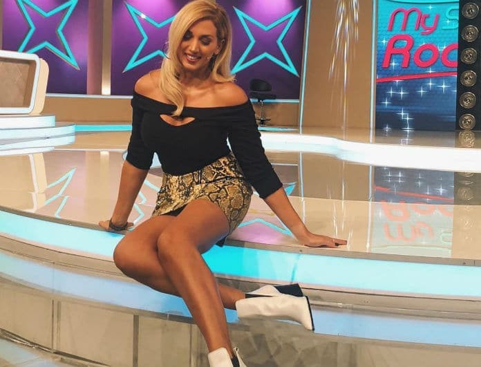 Κωνσταντίνα Σπυροπούλου: Η φωτογραφία από το καμαρίνι της... με παντόφλες!
