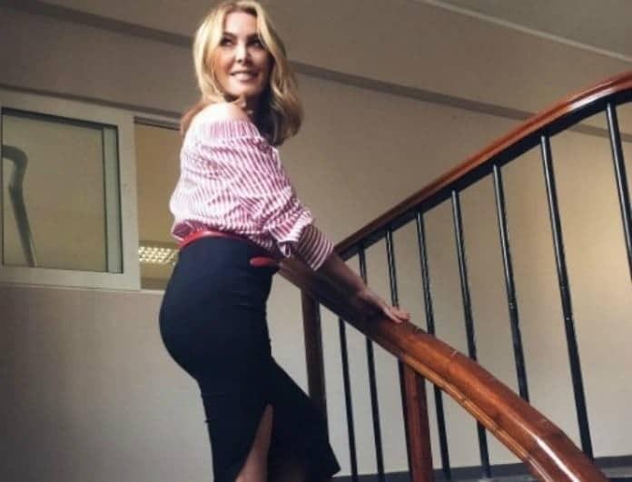 Τατιάνα Στεφανίδου: Τα μποτάκια που φόρεσε είναι η νέα τάση του χειμώνα!