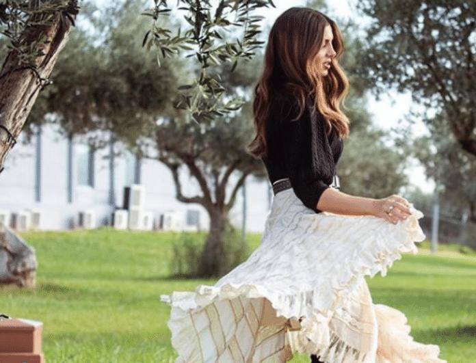 Σταματίνα Τσιμτσιλή: Το ρομαντικό λουκ της που λατρεύουν μέχρι και... οι πεθερές μας!