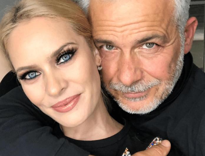 Χάρης Χριστόπουλος - Ανίτα Μπραντ: Περιμένουν το πρώτο τους παιδάκι;
