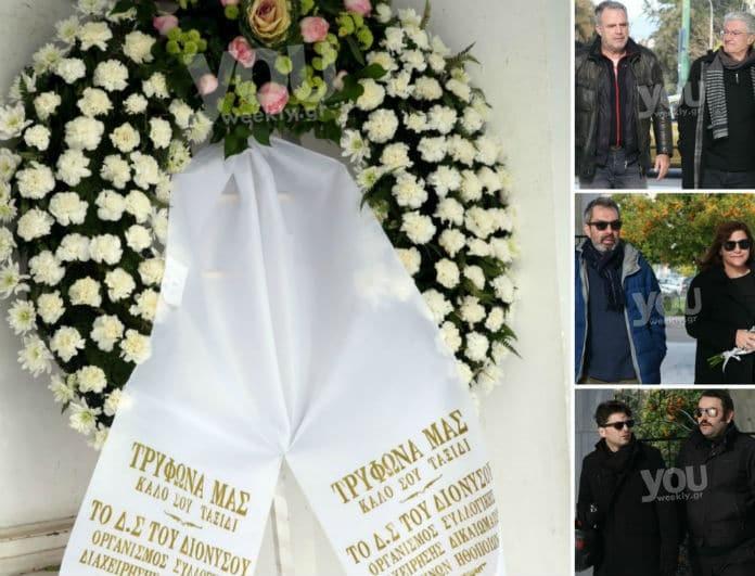Τρύφων Καρατζάς: Ράγισαν καρδιές στην κηδεία του! Οι συγκλονιστικές εικόνες από το τελευταίο αντίο...